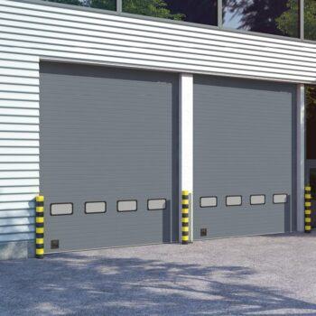 Секционные ворота для промышленного использования ISD01